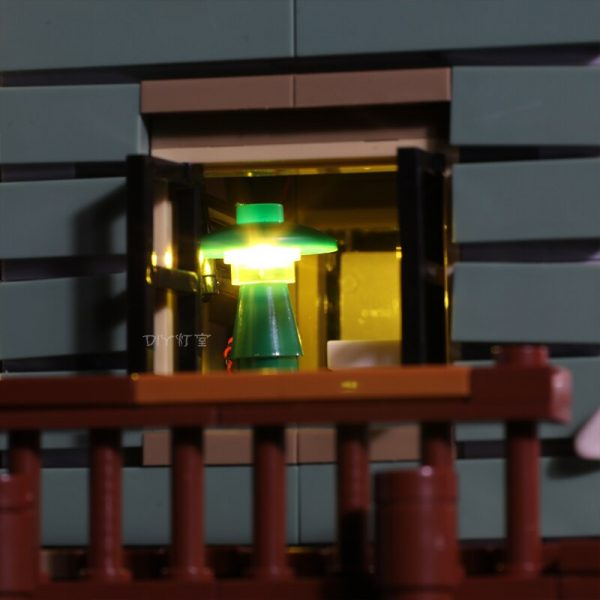 Led Light Set For Lego 21310 Building Blocks Creator City Street Compatible 16050 Old Fishing Store 2 - Bricks Delight