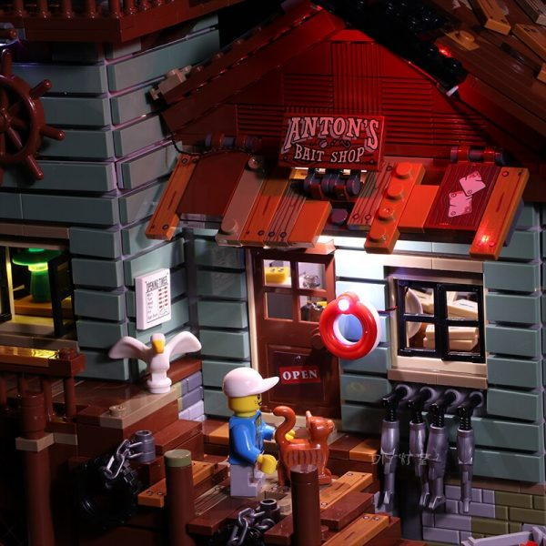 Led Light Set For Lego 21310 Building Blocks Creator City Street Compatible 16050 Old Fishing Store - Bricks Delight