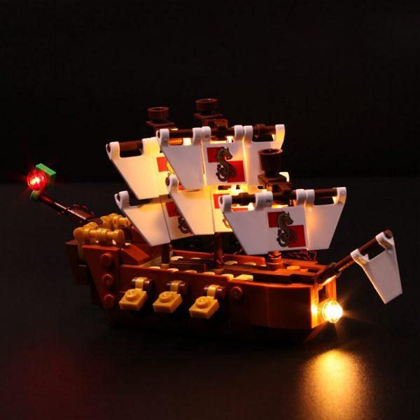 Led Light Set For Lego 21313 Ideas Serie Compatible 16051 creator ship in a Bottle Building 4 - Bricks Delight