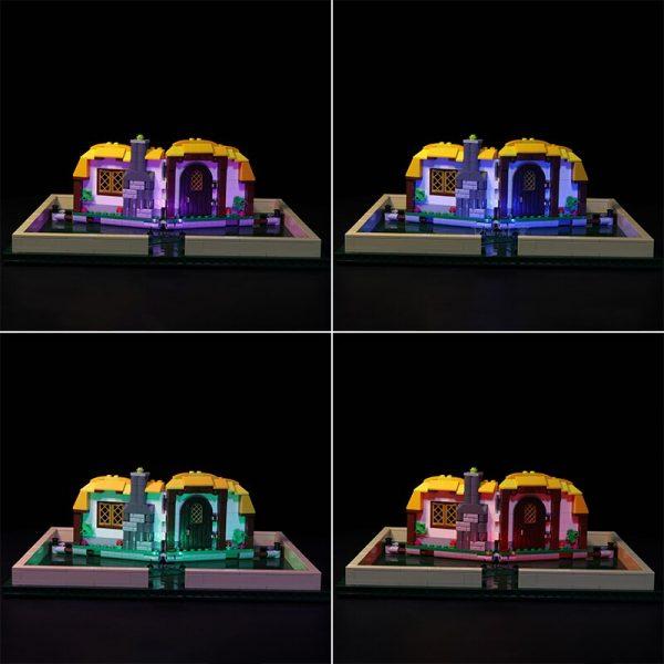 Led Light Set For Lego 21315 IDEAS series Brick Magic Folding Stereo Book Building Blocks Creator 1 - Bricks Delight