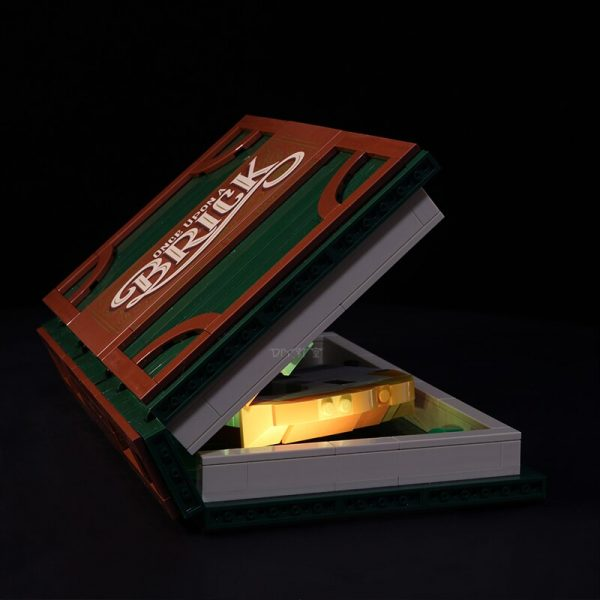 Led Light Set For Lego 21315 IDEAS series Brick Magic Folding Stereo Book Building Blocks Creator - Bricks Delight