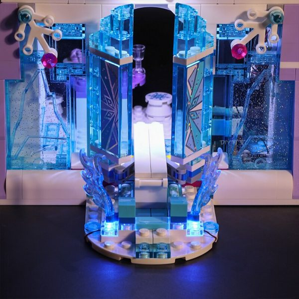 Led Light Set For Lego 41148 friend Snow World Compatible 25002 Elsa s Magical Ice Palace 1 - Bricks Delight
