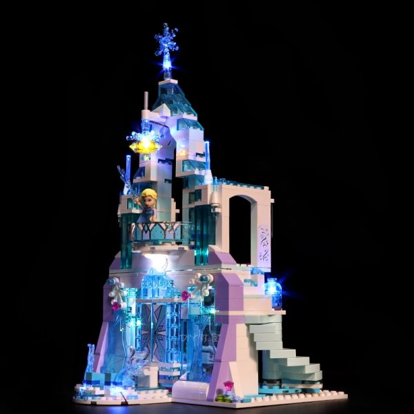 Led Light Set For Lego 41148 friend Snow World Compatible 25002 Elsa s Magical Ice Palace - Bricks Delight