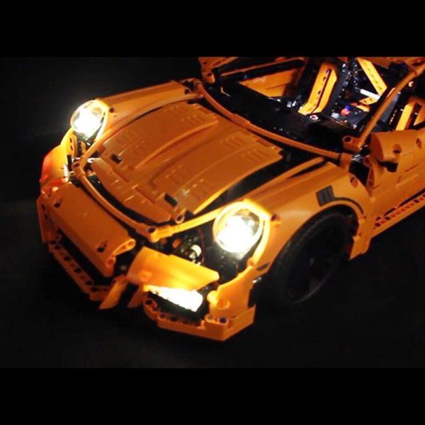 Led Light Set For Lego 42056 Porsche technic race Car Compatible 20001 3368 Building Blocks Bricks 1 - Bricks Delight