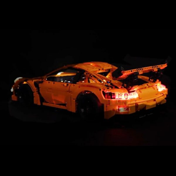 Led Light Set For Lego 42056 Porsche technic race Car Compatible 20001 3368 Building Blocks Bricks 2 - Bricks Delight