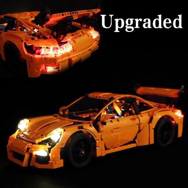 Led Light Set For Lego 42056 Porsche technic race Car Compatible 20001 3368 Building Blocks Bricks - Bricks Delight