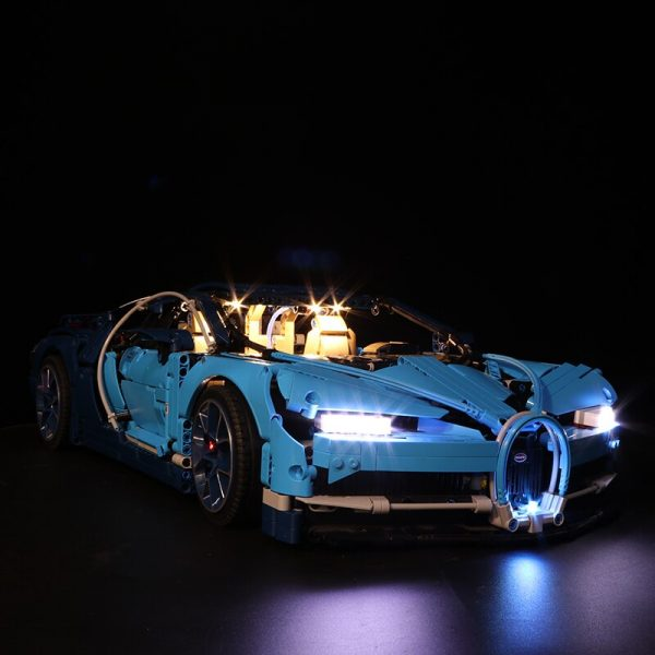 Led Light Set For Lego 42083 Compatible 20086 Bugatti Chiron technic race Car Building Blocks Toys 1 - Bricks Delight