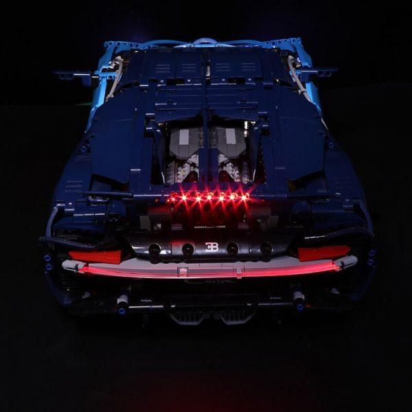 Led Light Set For Lego 42083 Compatible 20086 Bugatti Chiron technic race Car Building Blocks Toys 3 - Bricks Delight