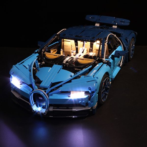 Led Light Set For Lego 42083 Compatible 20086 Bugatti Chiron technic race Car Building Blocks Toys - Bricks Delight