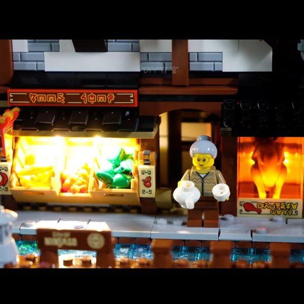 Led Light Set For Lego 70657 Compatible 06083 Ninjagoing City Docks Set Building Blocks Bricks Toys 1 - Bricks Delight