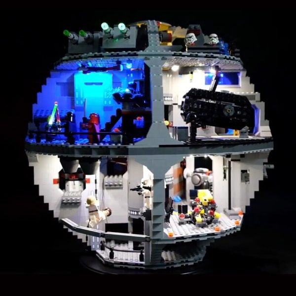 Led Light Set For Lego 75159 Star Series Wars Death Star Compatible 05063 Building Blocks Bricks 1 - Bricks Delight