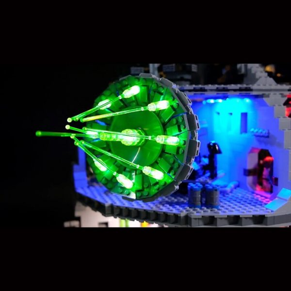 Led Light Set For Lego 75159 Star Series Wars Death Star Compatible 05063 Building Blocks Bricks 2 - Bricks Delight