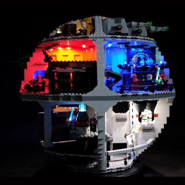 Led Light Set For Lego 75159 Star Series Wars Death Star Compatible 05063 Building Blocks Bricks - Bricks Delight