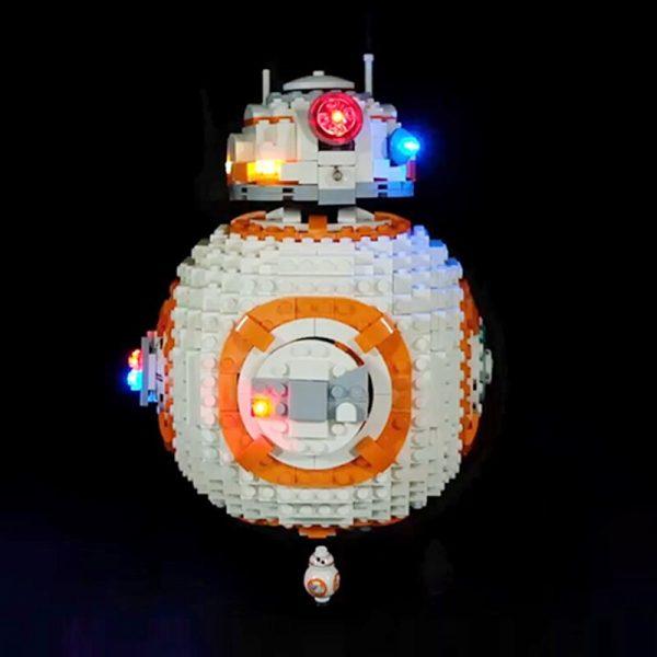 Led Light Set For Lego 75187 star wars bb8 Robot starfighter Building Blocks Compatible 05128 Toys 1 - Bricks Delight