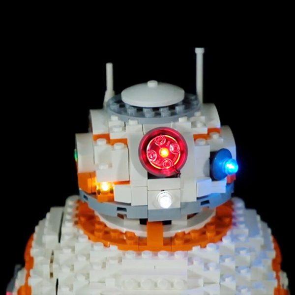 Led Light Set For Lego 75187 star wars bb8 Robot starfighter Building Blocks Compatible 05128 Toys 2 - Bricks Delight
