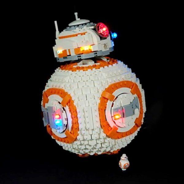 Led Light Set For Lego 75187 star wars bb8 Robot starfighter Building Blocks Compatible 05128 Toys - Bricks Delight