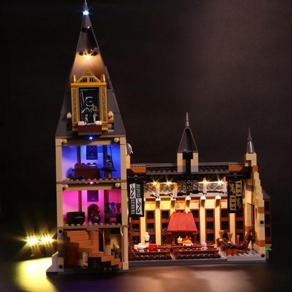 Led Light Set For Lego 75954 Harry Movie Compatible 16052 Hogwarts Great Hall Building Blocks Bricks 2 - Bricks Delight