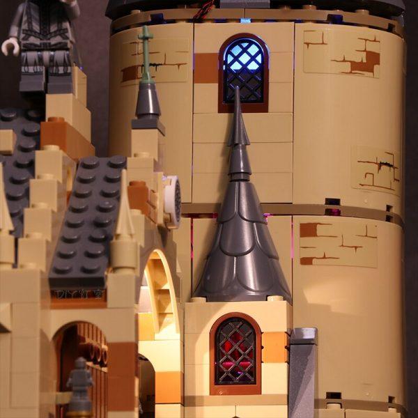 Led Light Set For Lego 75954 Harry Movie Compatible 16052 Hogwarts Great Hall Building Blocks Bricks 3 - Bricks Delight