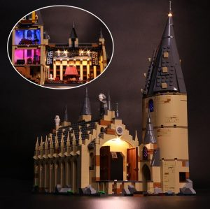 Led Light Set For Lego 75954 Harry Movie Compatible 16052 Hogwarts Great Hall Building Blocks Bricks - Bricks Delight