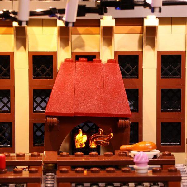 Led Light Set For Lego 75954 Harry Movie Compatible 16052 Hogwarts Great Hall Building Blocks Bricks 4 - Bricks Delight