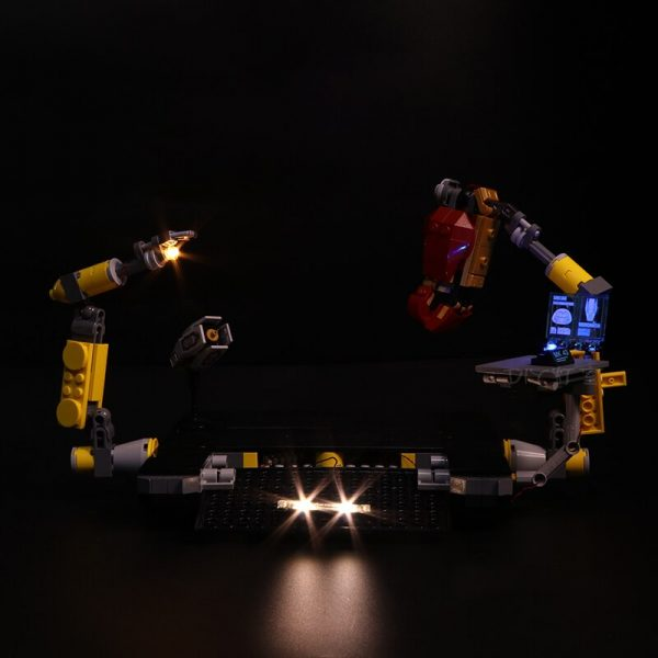 Led Light Set For Lego 76105 Compatible 07101 the Iron Man Hulkbuster Set Building Blocks Bricks 2 - Bricks Delight