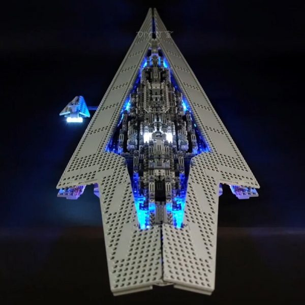 Led Light Set For Lego Star Wars 10221 Compatible 05028 Star Destroyer Building Blocks Bricks Toys 1 - Bricks Delight