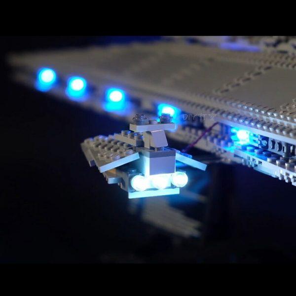 Led Light Set For Lego Star Wars 10221 Compatible 05028 Star Destroyer Building Blocks Bricks Toys 2 - Bricks Delight