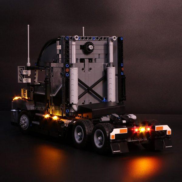 Led Light Set For Lego Technic 42078 Compatible 20076 the Mack AnthBig Truck Building Blocks Bricks 1 - Bricks Delight