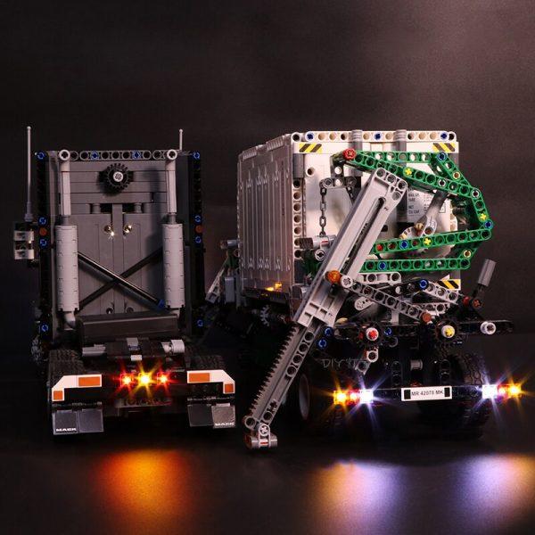 Led Light Set For Lego Technic 42078 Compatible 20076 the Mack AnthBig Truck Building Blocks Bricks 2 - Bricks Delight