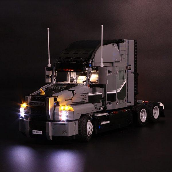 Led Light Set For Lego Technic 42078 Compatible 20076 the Mack AnthBig Truck Building Blocks Bricks 3 - Bricks Delight