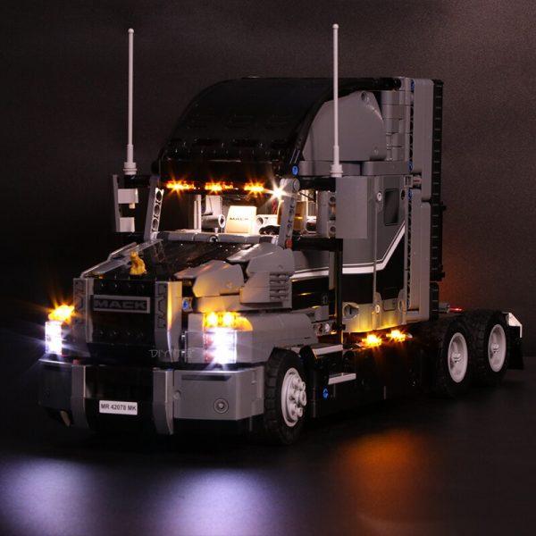Led Light Set For Lego Technic 42078 Compatible 20076 the Mack AnthBig Truck Building Blocks Bricks - Bricks Delight