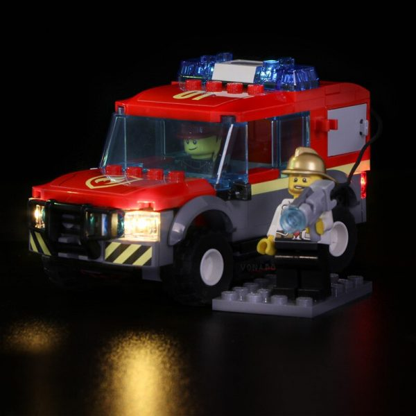 Led light for LEGO 60216 CITY 19 year city new city fire rescue team City series - Bricks Delight