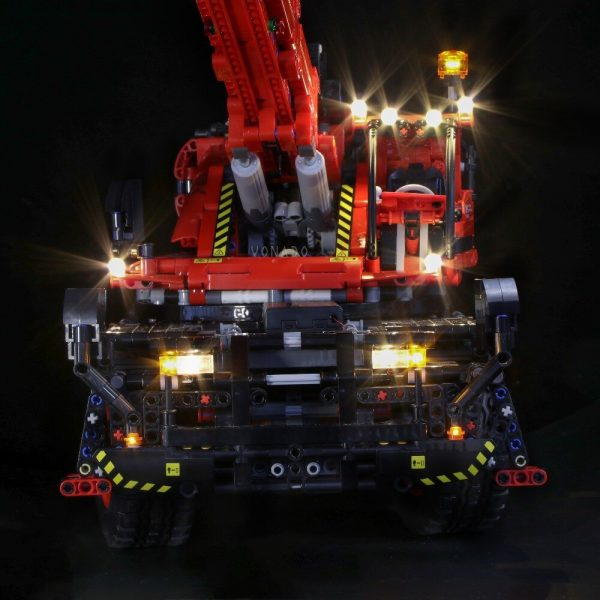 Led light for LEGO Mechanical Group 42082 Complex Terrain Crane LEGO Technic series Boy and girl 1 - Bricks Delight