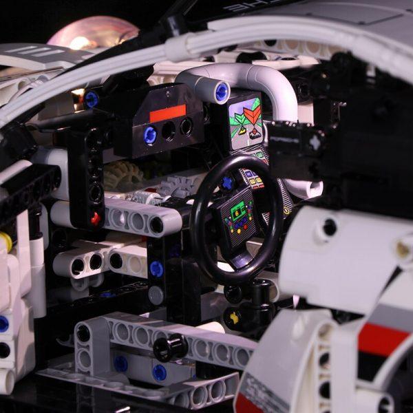 Led light for Lepin 20097 Technic Series 42096 White Super Racing Car Set Building Blocks Bricks 2 - Bricks Delight