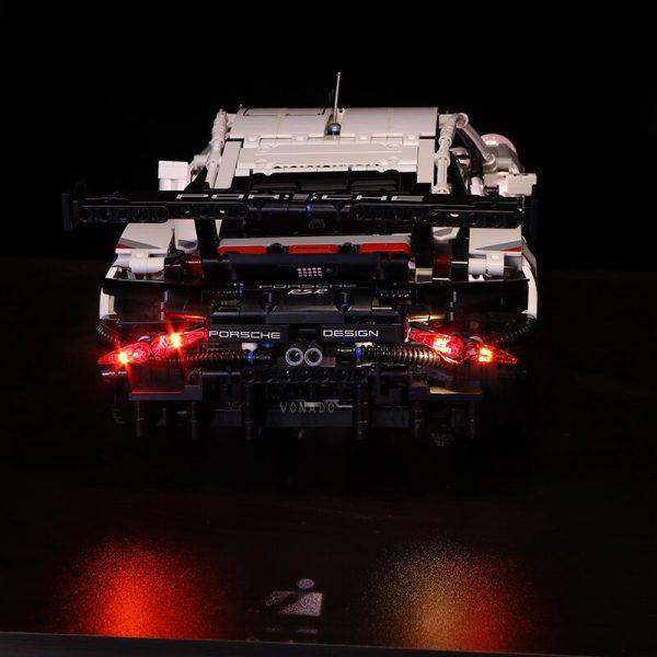 Led light for Lepin 20097 Technic Series 42096 White Super Racing Car Set Building Blocks Bricks - Bricks Delight