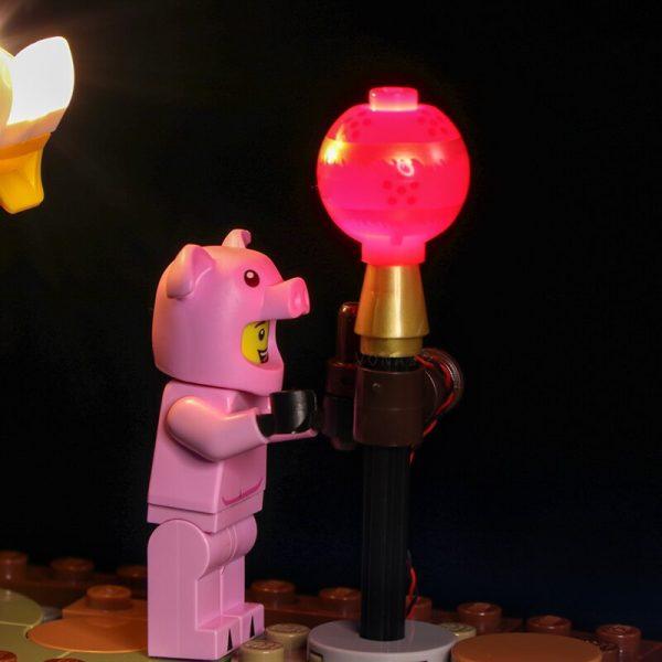 Led light for Lepin 46002Dragon Dance Compatible Lego 80102 Model Set Building Blocks Bricks Assembled DIY 1 - Bricks Delight