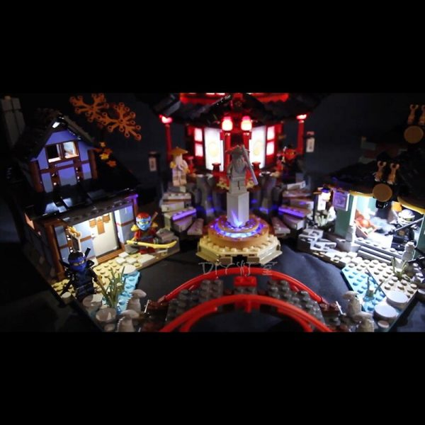 Led light for Lepin06022Ninja Temple of Airjitzu Kai Cole Building Block Compatible legoinglys70751 Bricks Toys Gifts 2 - Bricks Delight