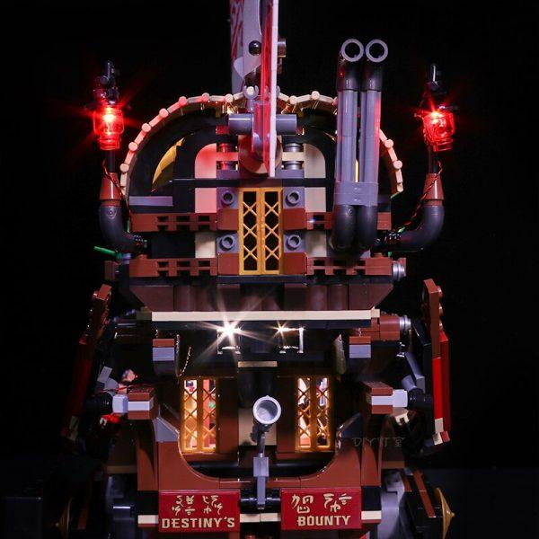 Led light for Stzhou 06057 Legoing Ninjago 70618 Destiny s Bounty Ship Movie Boat Model Building - Bricks Delight