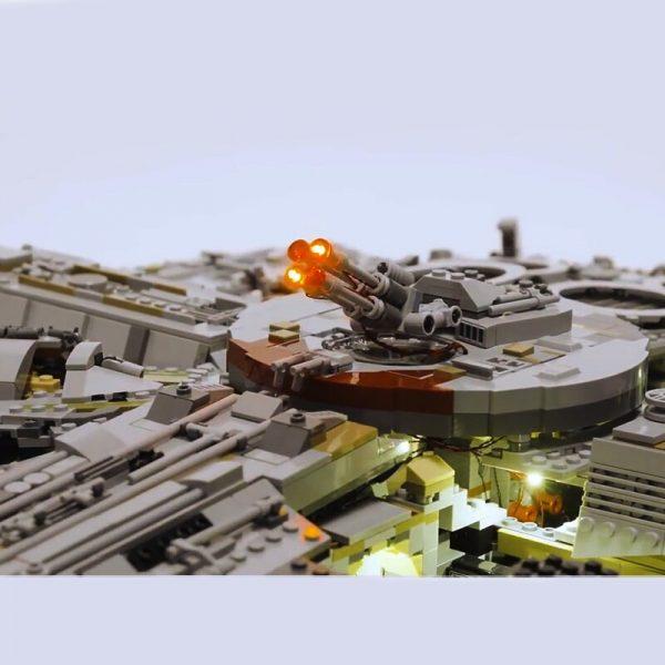 Led light kit for lego 75192 Compatible 05132 Star War Falcon Millennium Building Blocks Model Toys 1 - Bricks Delight