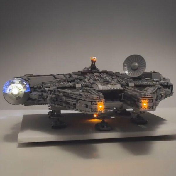 Led light kit for lego 75192 Compatible 05132 Star War Falcon Millennium Building Blocks Model Toys 3 - Bricks Delight