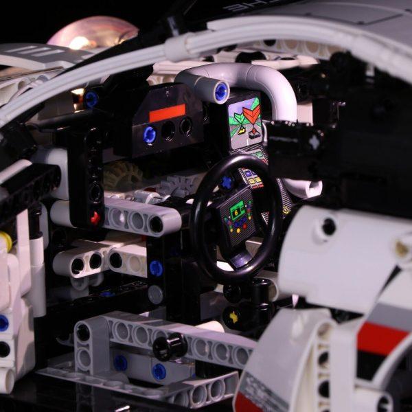Lighting kit Technic MOC Super 20097 Racing Car Building Block Kit Brick Kids Boy Gift Toy - Bricks Delight