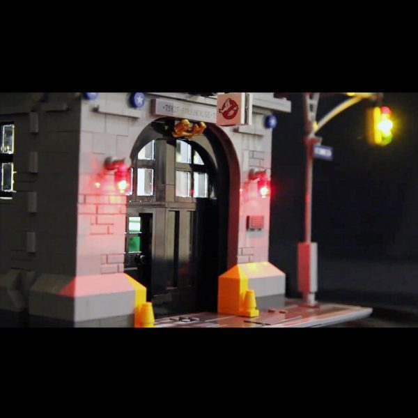 Only Led Light Set For Lego 75827 Building City Street Ghostbusters Firehouse Headquarters Compatible 16001 Blocks 1 - Bricks Delight