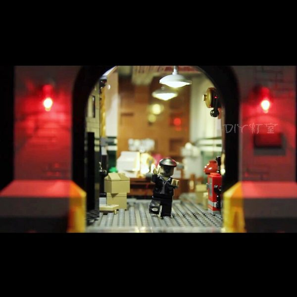 Only Led Light Set For Lego 75827 Building City Street Ghostbusters Firehouse Headquarters Compatible 16001 Blocks 2 - Bricks Delight