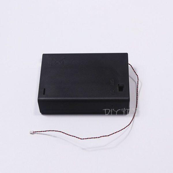 USB Cable Battery Case Led Light For Lego City Street Single lamp battery box USB For 1 - Bricks Delight