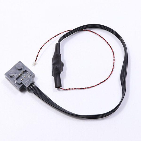 USB Cable Battery Case Led Light For Lego City Street Single lamp battery box USB For - Bricks Delight