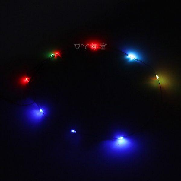 Vonado Multi Colour Changing Light String Led Light Set For Lego City Street Single lamp battery - Bricks Delight